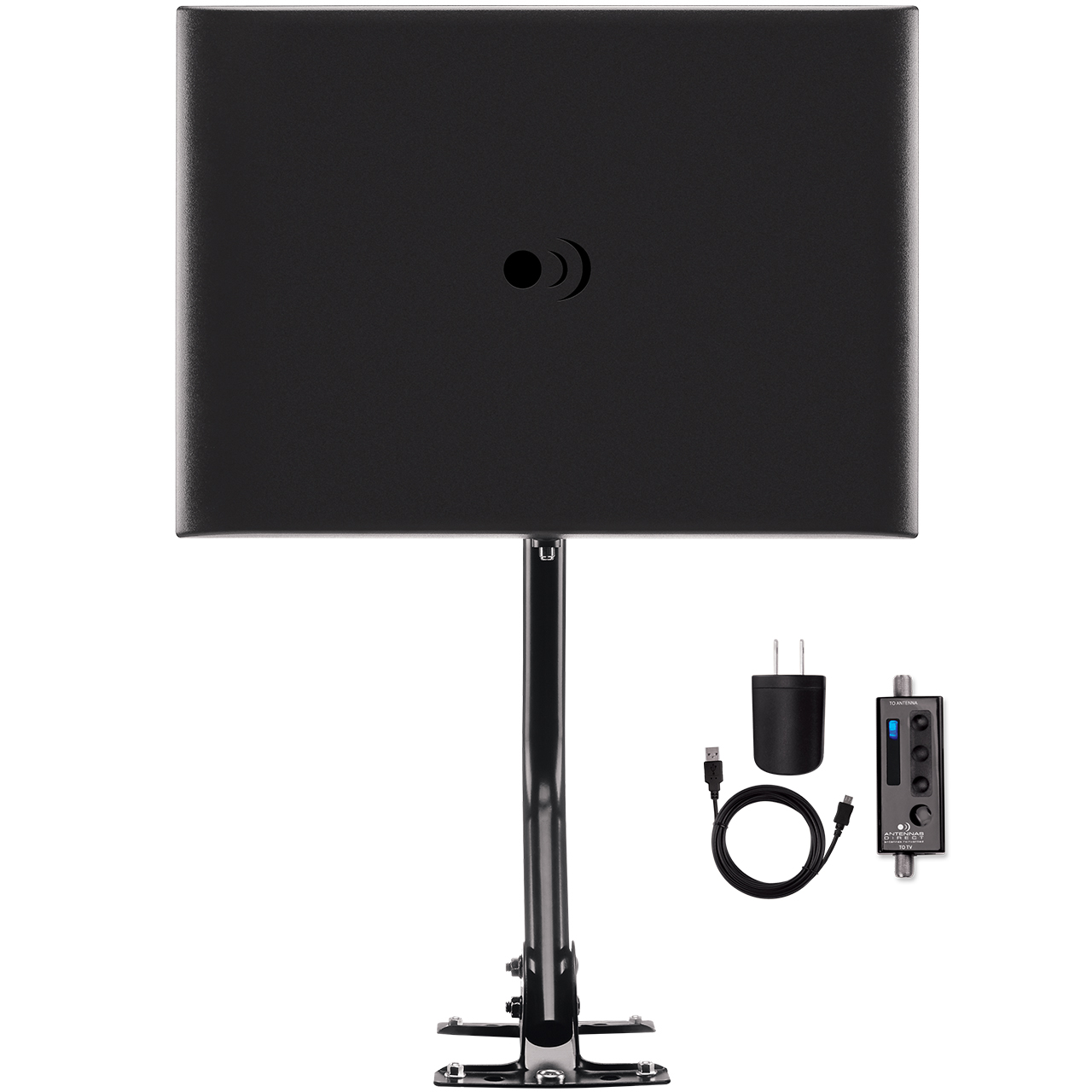 https://www.antennasdirect.com - ClearStream FUSION Amplified UHF VHF Indoor Outdoor HDTV Antenna 49.99 USD