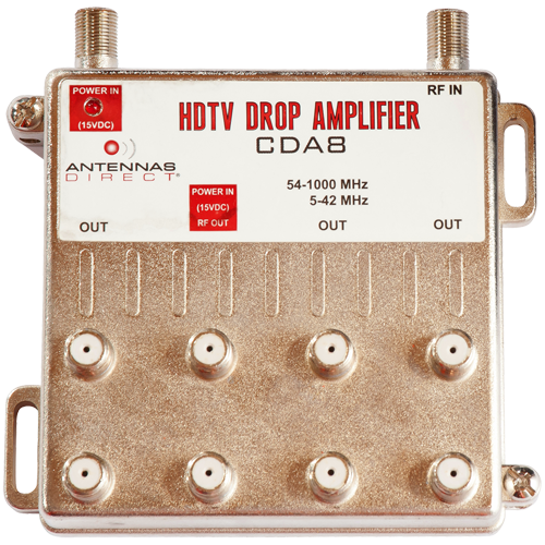 8-Output TV CATV Distribution Amplifier
