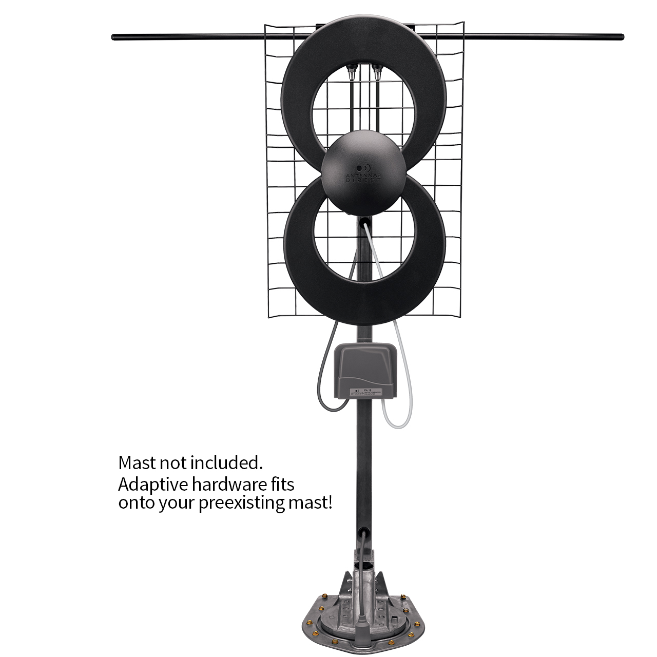 https://www.antennasdirect.com - ClearStream 2 RV TV Antenna